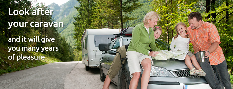 keep your caravan in good condition and get the most out of it
